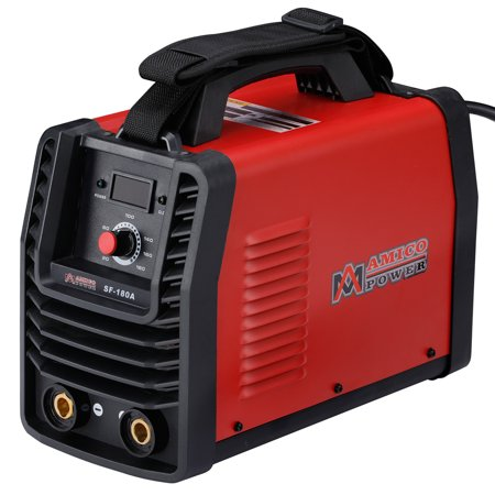 SF-180A, 180 Amp Stick ARC DC Inverter Welder, IGBT Digital Display LCD 110V & 230V Dual Voltage Welding Machine