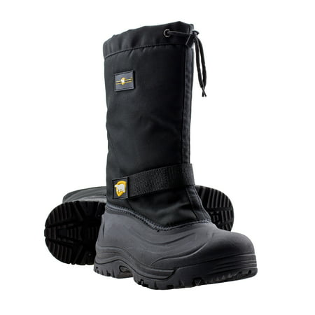 ArcticShield Mens Cold Weather Waterproof Durable Insulated Tall Winter Snow - Insulated Wedge Boot