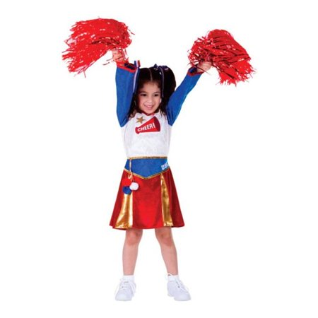 Dress Up America 765-T4 American Cheerleader Girls Costume, T4 - image 1 de 1