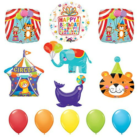 The ULTIMATE Circus Animal Birthday Party Supplies Decoration Balloon Kit (Circus Birthday Party Supplies)