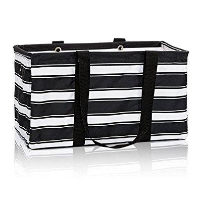 d38d8a2fee84e3 ... thirty one large utility tote in ribbon stripe - no monogram - 3121