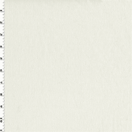 White Cotton Bull Denim Twill Home Decorating Fabric, Fabric By the Yard