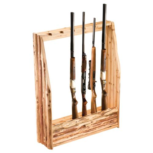 Rush Creek 6-Gun Rack with Storage by Overstock