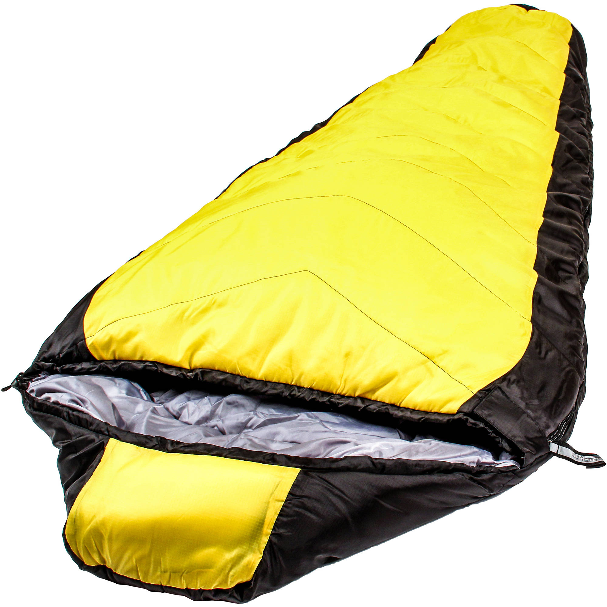 North Star 3.5 CoreTech Sleeping Bag, Yellow/Black