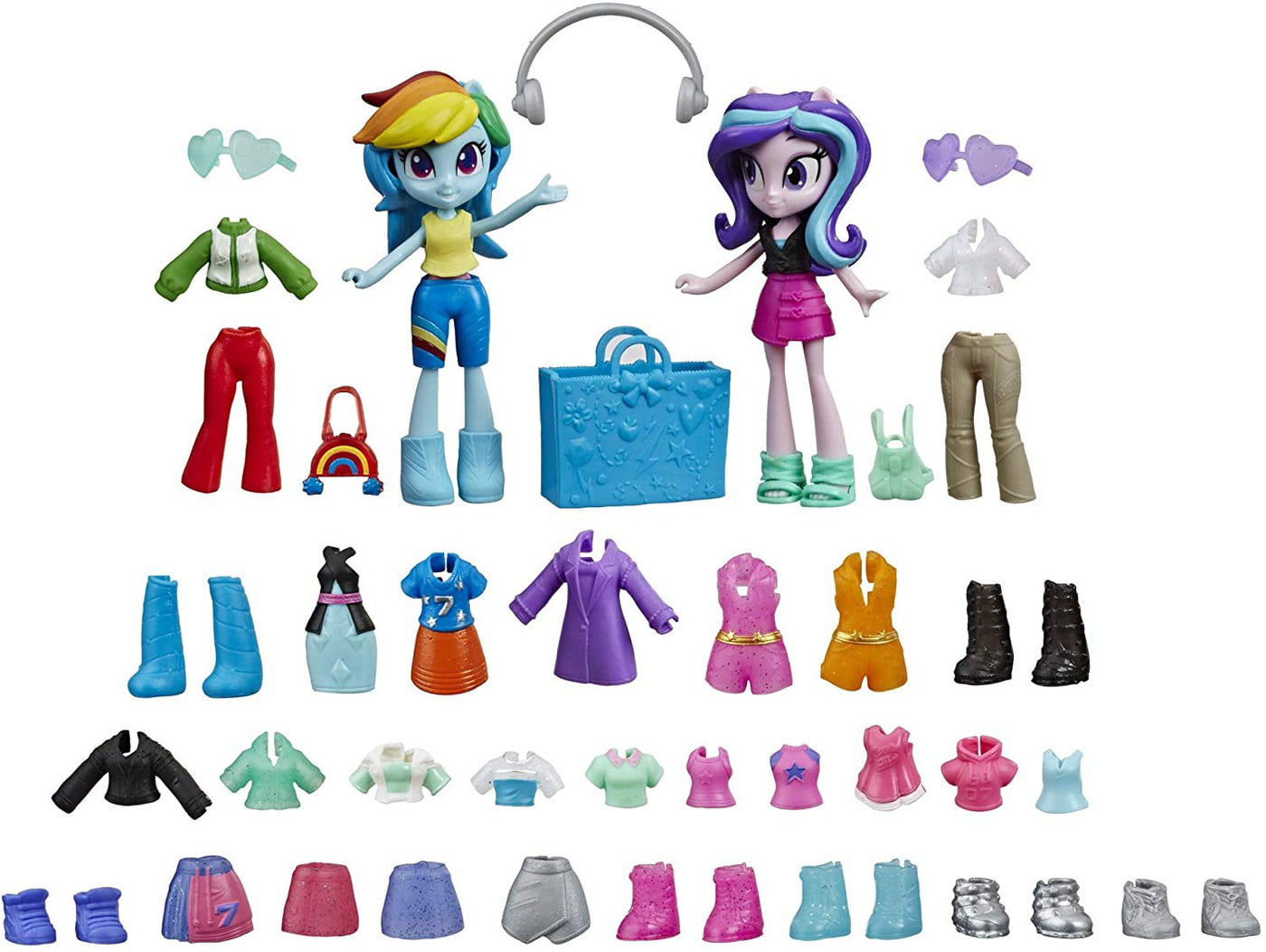 My Little Pony Equestria Girls Fashion Squad Rainbow Dash And Starlight  Glimmer - Walmart.com - Walmart.com