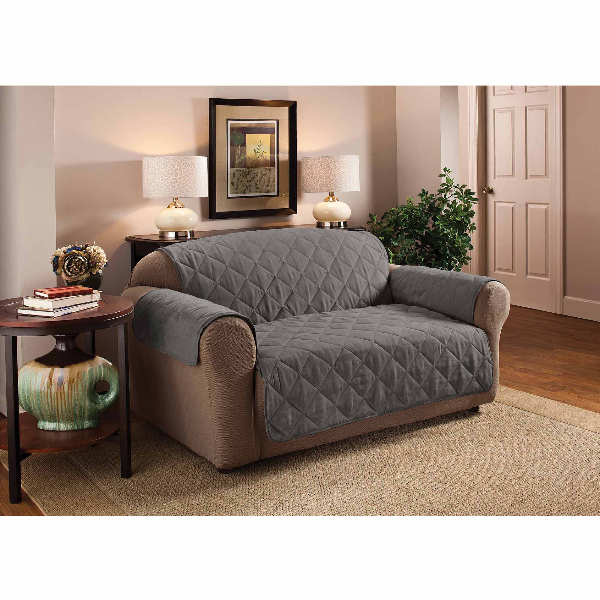 Innovative textile solutions suede furniture protector sofa couch cover