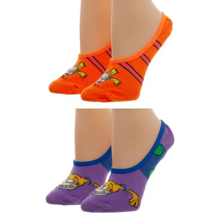 No Show Liner Socks - Rugrats - 2 Pack New xs71qgrug - Rugrats Decorations