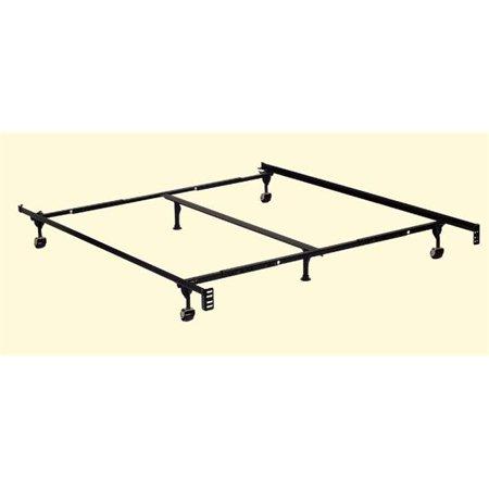Furniture Of America IDF FRAM Q K Adjustable Metal Bed Fr
