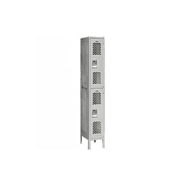 Salsbury Industries Vented Metal Locker-Double Tier-1 Wide--Assembled