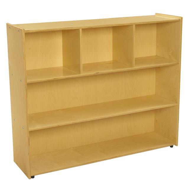Childcraft 1526308 40 x 48 x 13 in. ABC Furnishings 3-Shelf Storage Unit