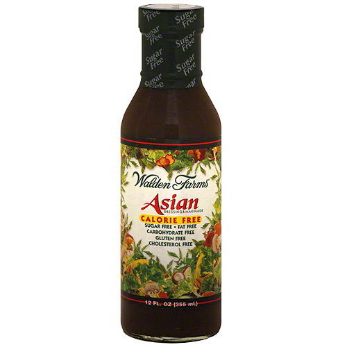 Walden Farms Asian Calorie-Free Dressing & Marinade, 12 oz (Pack of 6)