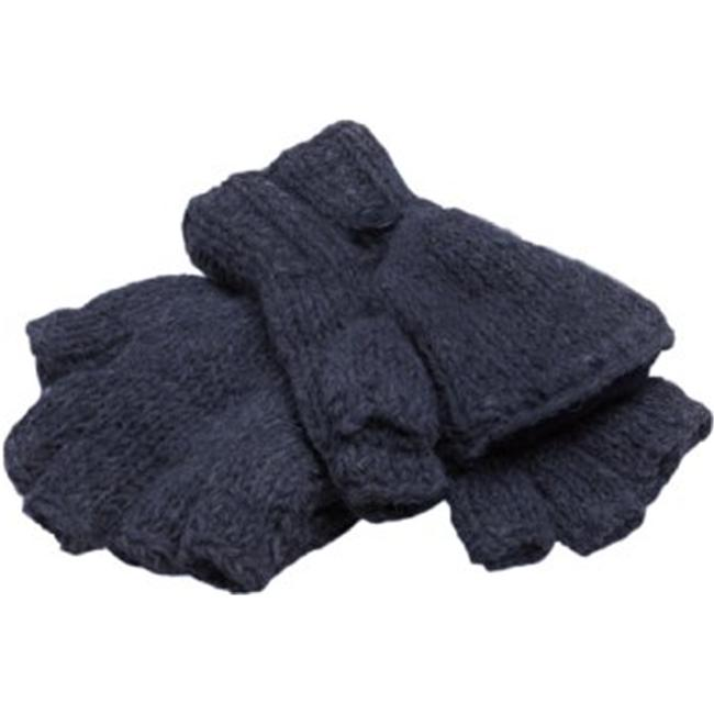 Nirvanna Designs MT27 Fingerless Gloves with Flap and Fleece