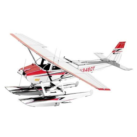 Fascinations Metal Earth 3D Metal Model - Cessna 182 Floatplane (MMS111)