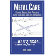 Blitz, Metal Care Cloth for Musical Instruments