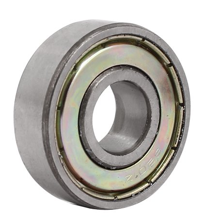 32mm OD 12mm Inner Dia 10mm Thickness Shielded Deep Groove Ball Bearing