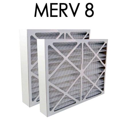 Air Bear 16x25x5 Furnace Compatible Filter MERV 8 2 Pack