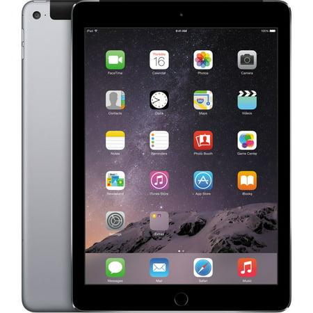 Apple iPad Air 2, 9.7in, Wi-Fi, 16GB, Space Gray (MGL12LL/A)