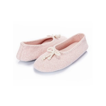 Women's Memory Foam House Shoes Breathable Ballerina Slippers Anti-Skid House Slippers Shoe