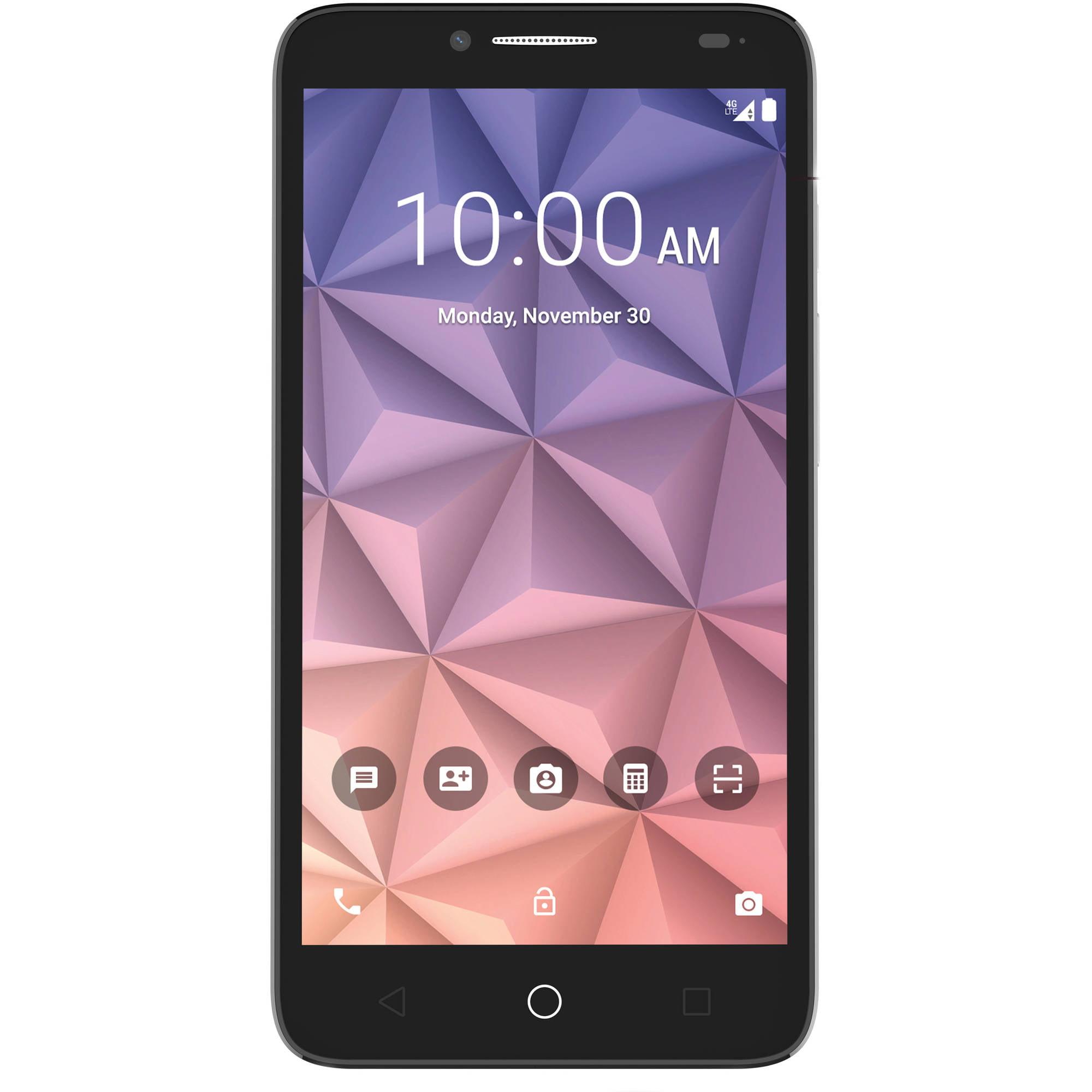 Walmart Family Mobile ALCATEL ONETOUCH Fierce XL Smartphone