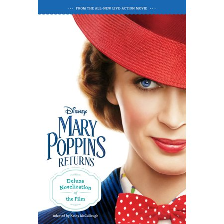 Mary Poppins Returns Deluxe Novelization (Paperback) (Mary Poppins Characters Costumes)