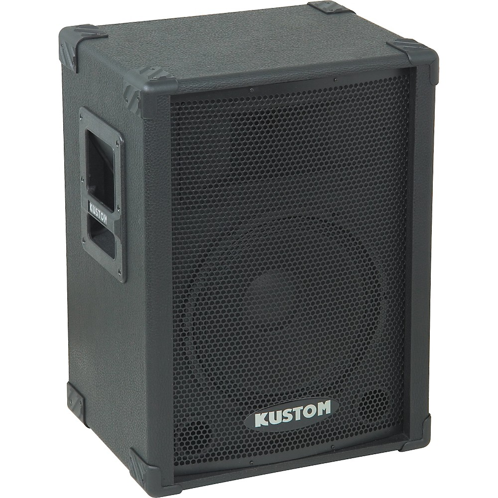 "Kustom PA KPC12 12"" PA Speaker Cabinet with Horn Level 2 ..."