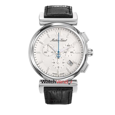 H410chali Tissot Mathey Dial Elegance White Men's Chronograph Watch f6gb7y