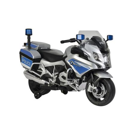 Best Ride On Cars BMW Police Bike Battery Powered Riding