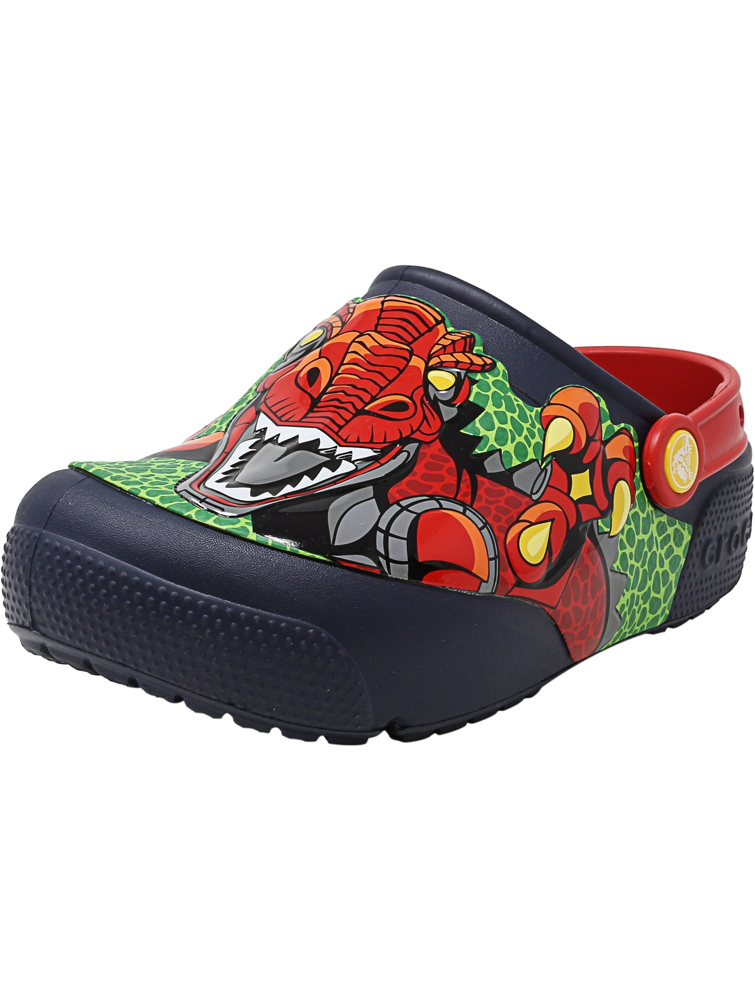 Crocs Crocsfunlab Lights Clog Robosaur Rex Ankle-High Clogs 3M by Crocs