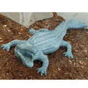 SPI Home Big Ferocious Alligator Statue