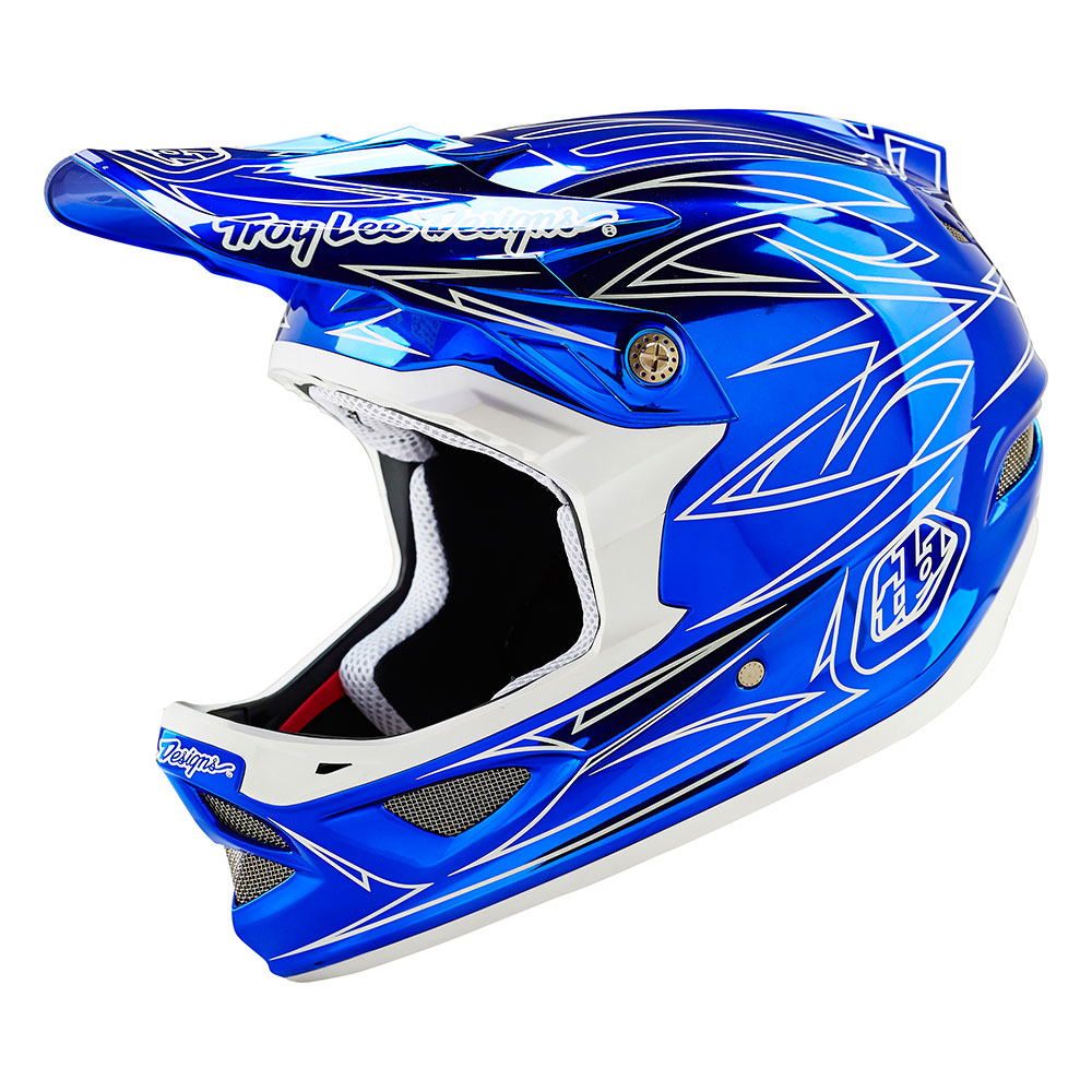 Troy Lee Designs Men's Pinstripe 2 D3 Mountain Bike Helmet