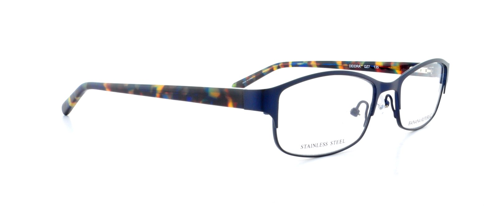1007ce2412c BANANA REPUBLIC Eyeglasses DEIDRA 0QZ7 Navy Blue Marble 48MM - Walmart.com