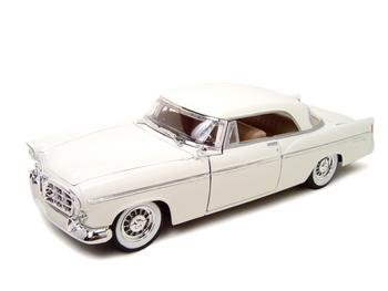 1956 Chrysler 300B SPECIAL EDITION Diecast 1:18 Scale White, 1:18 scale model. By Maisto by