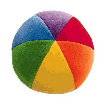Squishy Baby Ball : Genius Babies Colorfun Large Soft Baby Ball - Walmart.com