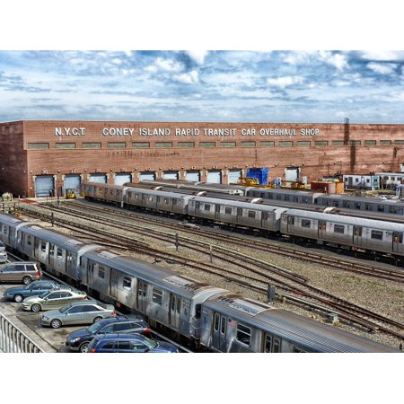 LAMINATED POSTER Cars Railroad New York City Transit Authority Train Poster Print 24 x (New York City Transit Authority Law Department)