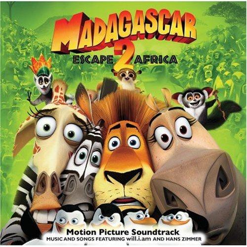 Madagascar: Escape 2 Africa Soundtrack (Enhanced CD)