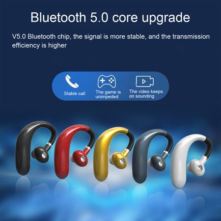 CDAR 1Pc R10 Wireless Earphone Hanging Ear Mini Bluetooth 5.0 Multi-function HiFi TWS Earphone for Jogging
