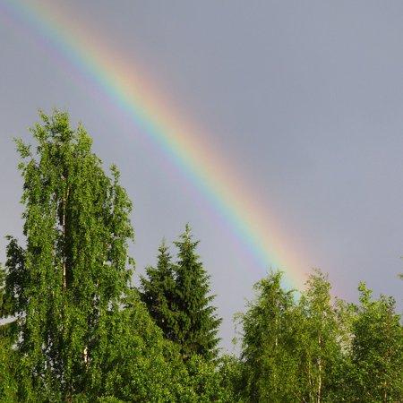 Laminated Poster Rainbow Refraction of Light Natural Phenomenon Poster Print 11 x