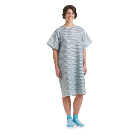 Star Straight Back Closure Hospital Gowns 2 PACK - Halloween Hospital Gown
