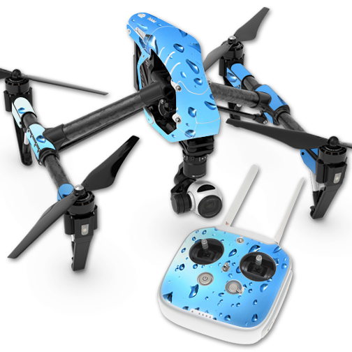MightySkins Protective Vinyl Skin Decal for DJI Inspire 1 Quadcopter Drone wrap cover sticker skins Honeycomb