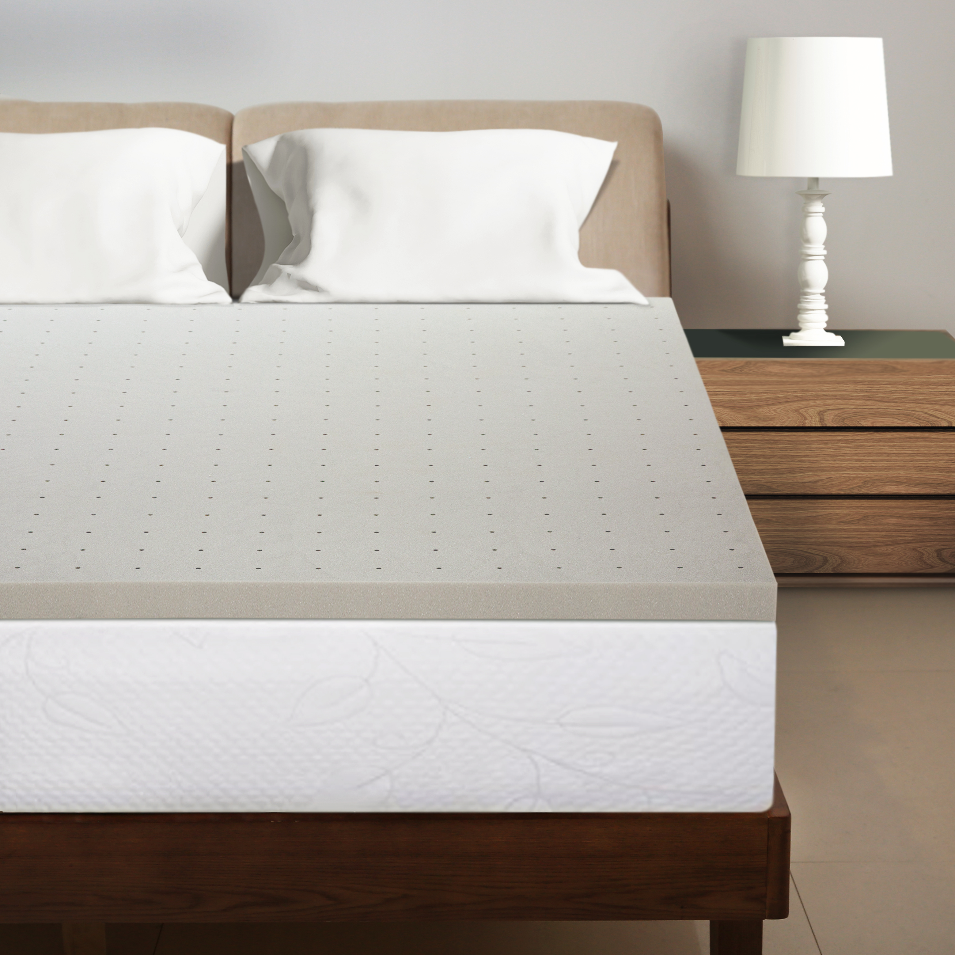 Best Price Mattress 1 5 Inch Bamboo Charcoal Infused