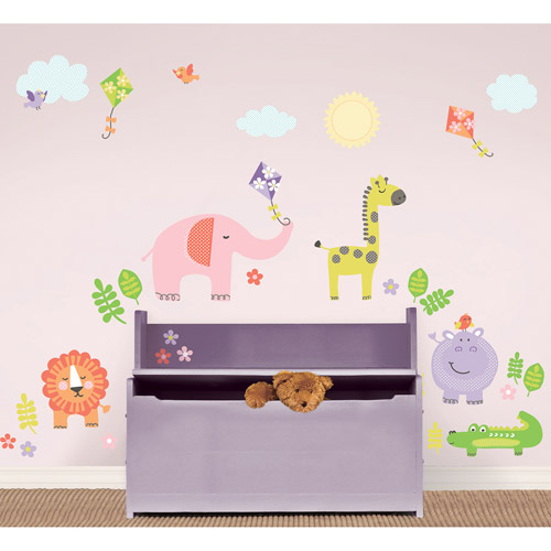 Wall Pops Sunny Day Safari Kit Wall Decals