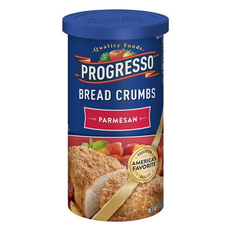 Fish Bread Crumbs - Progresso Parmesan Bread Crumbs, 15 oz