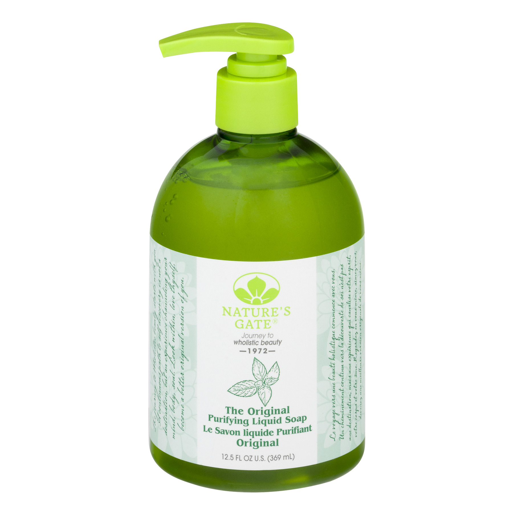 Nature's Gate Purifying Liquid Hand Soap, 12.5 Fl Oz