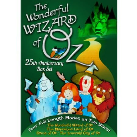 The Wonderful Wizard of Oz: 25th Anniversary Box Set (DVD)
