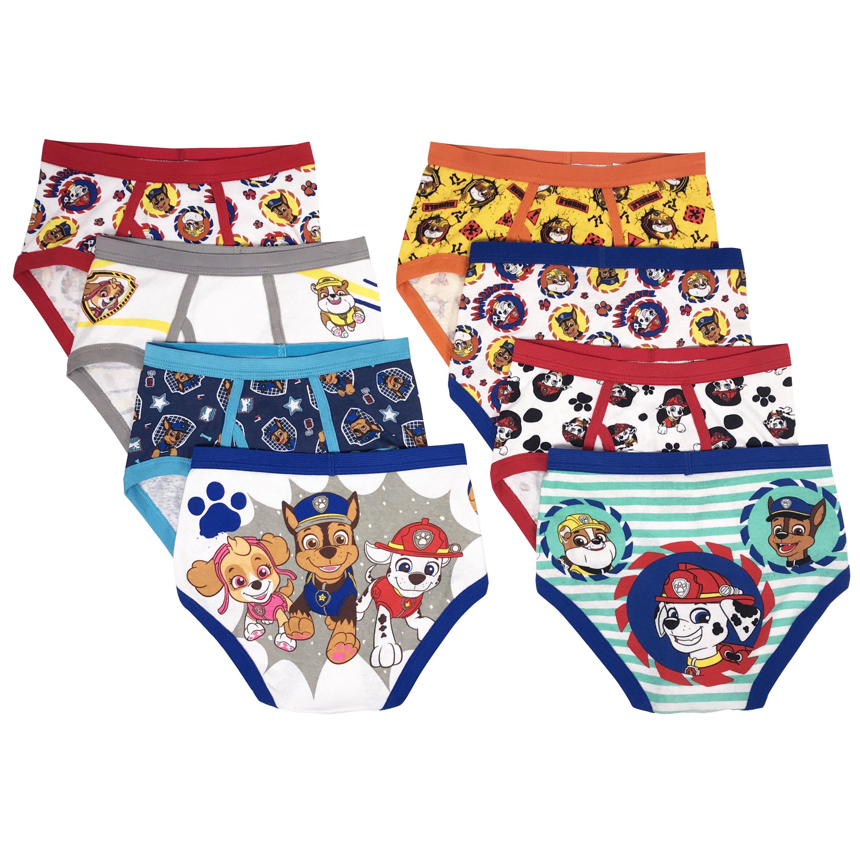 Girls//Boys 3 Pack Underwear Briefs Paw Patrol Or Ben 10