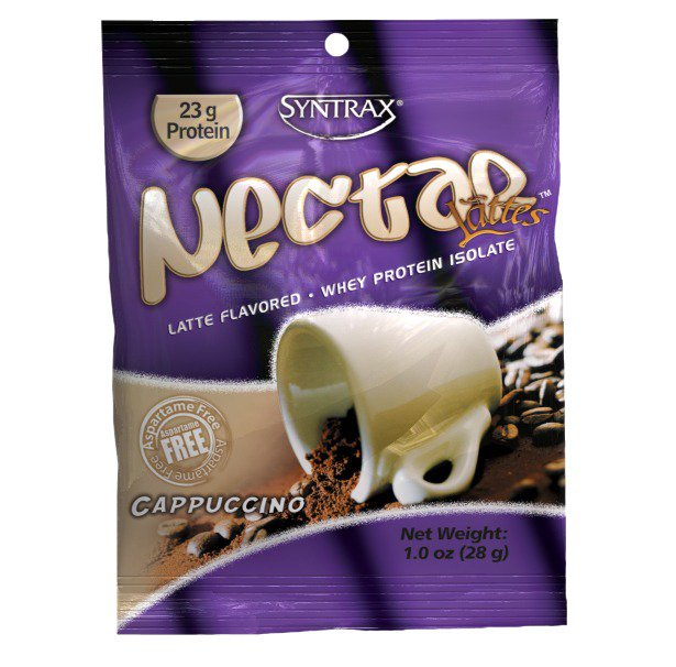 Nectar Grab N' Go Cappuccino Syntrax 12 Packet