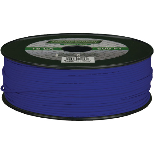 Install Bay 18-Gauge Primary Wire, 500' (Blue)