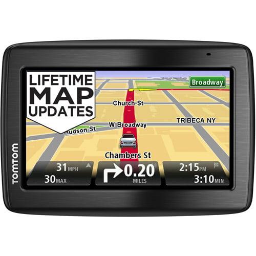 "TomTom VIA 1435M 4.3"" GPS w/Lifetime Maps, Voice Recognition, & Handsfree Bluetooth Calling"
