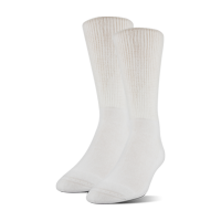 MediPeds Diabetic CoolMax Extra Wide Crew Socks, Large, 2 Pack