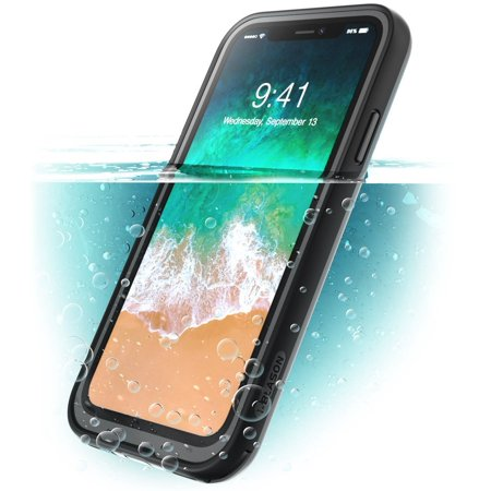iPhone X Case, i-Blason [Aegis] Waterproof Full-body Rugged Case with Built-in Screen Protector, Iphone x